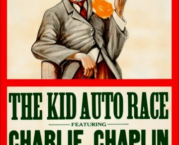 "Plakat von ""Kid Auto Races at Venice"""